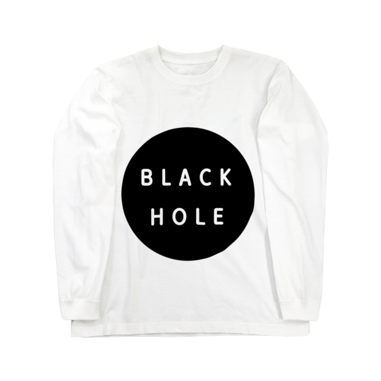 GREAT 7のブラックホール Long sleeve T-shirts