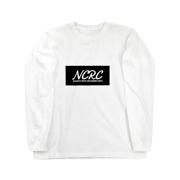 tdkjdesignのNCRC(筆記体) Long sleeve T-shirts
