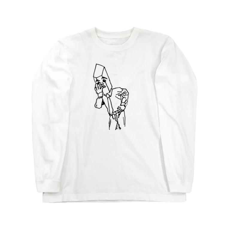 かっとび水晶課長の考察 水晶課長 Long sleeve T-shirts
