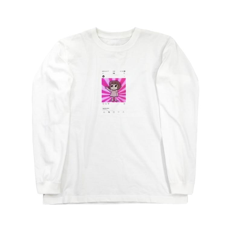 kyarimaruのシニカルヒステリーアワーちゃん Long sleeve T-shirts