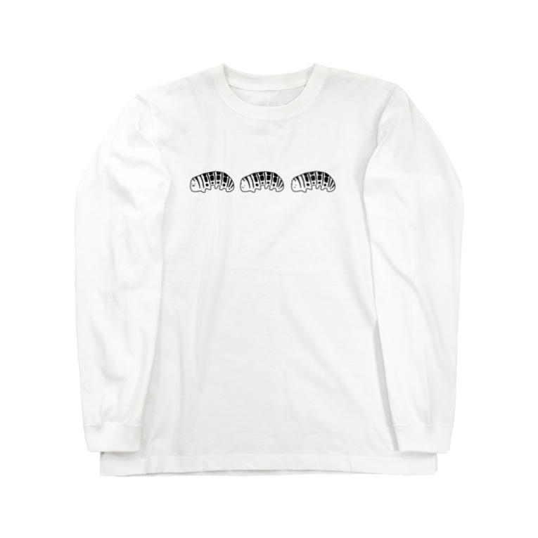 改葬屋さん。のいもむし。 Long sleeve T-shirts