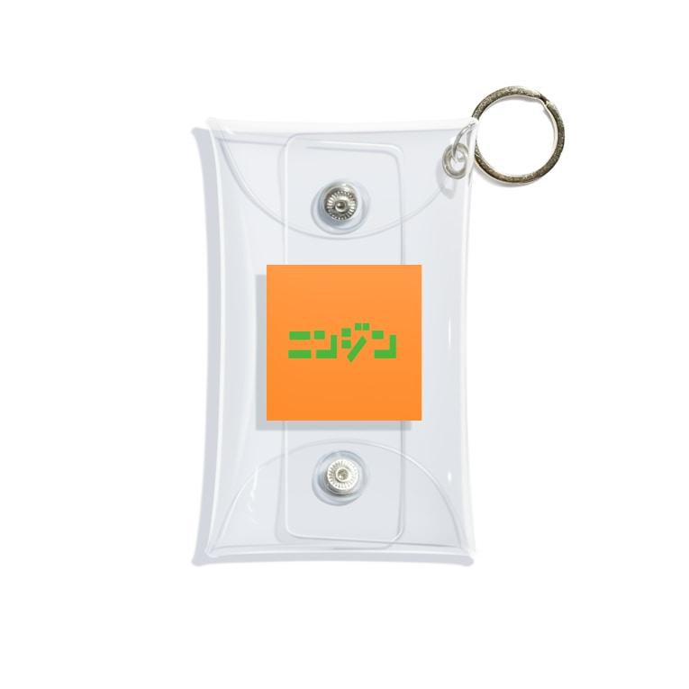 riruのおみせのにんじん🥕 Mini Clear Multipurpose Case