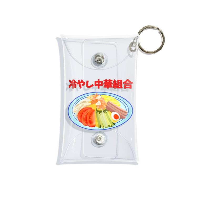 Mitukomangu-suの冷やし中華組合 Mini Clear Multipurpose Case