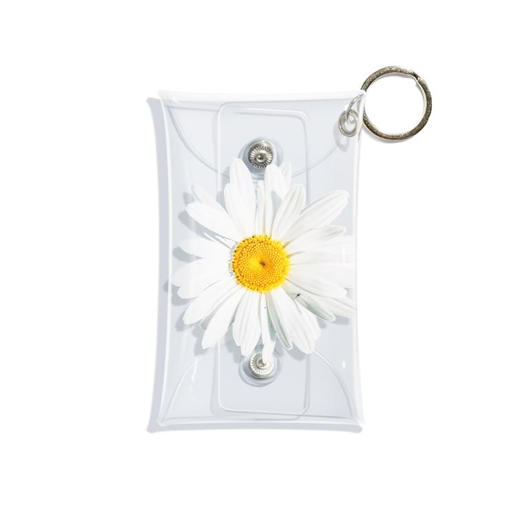 lenhung2108のdaisy flower Mini Clear Multipurpose Case