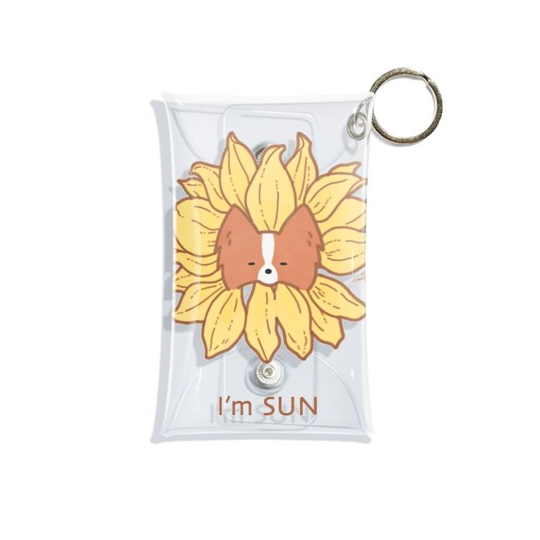 suHaruのI'm SUN Mini Clear Multipurpose Case