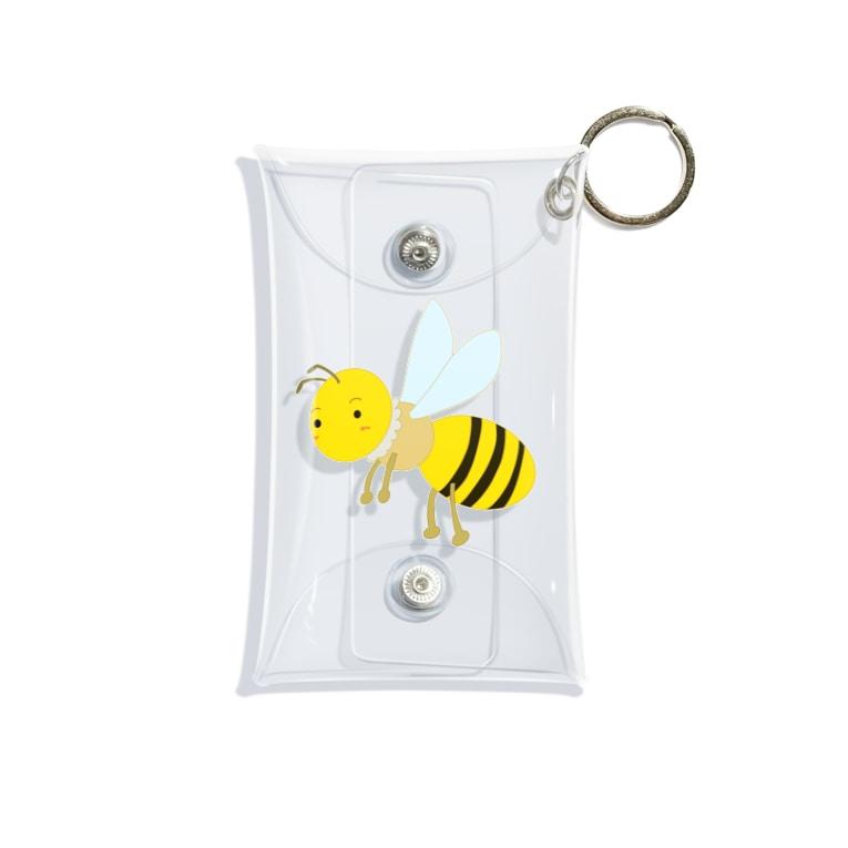 aconaruのみつばち Mini Clear Multipurpose Case