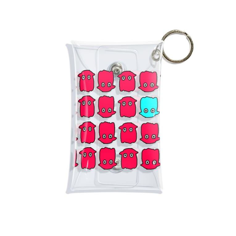 cochaの【Deepy】メンダコ Mini Clear Multipurpose Case