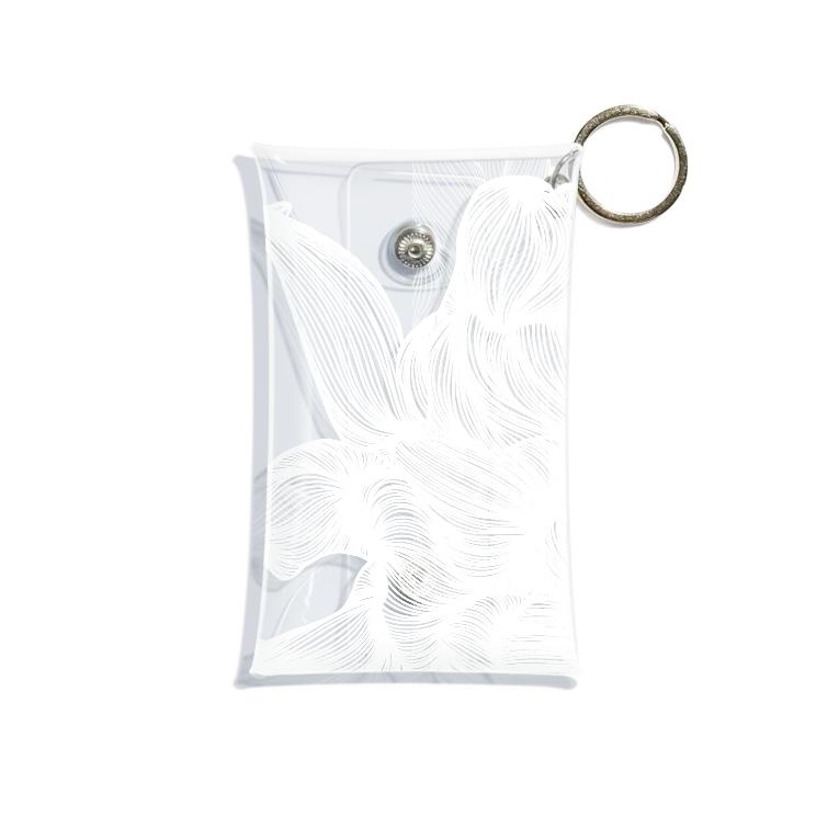 87のhana02 Mini Clear Multipurpose Case