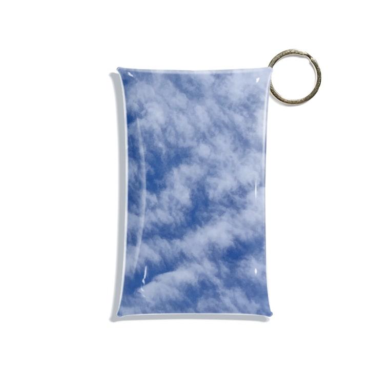 Lily bird(リリーバード)のいわし雲photo Mini Clear Multipurpose Case