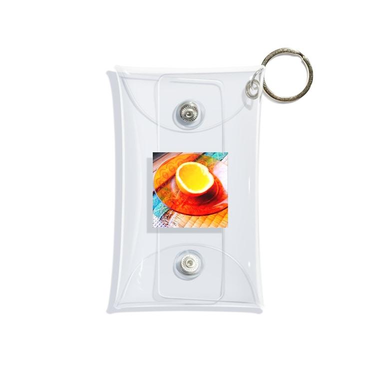 マジレスマシーンの昭和 みかんゼリー Mini Clear Multipurpose Case