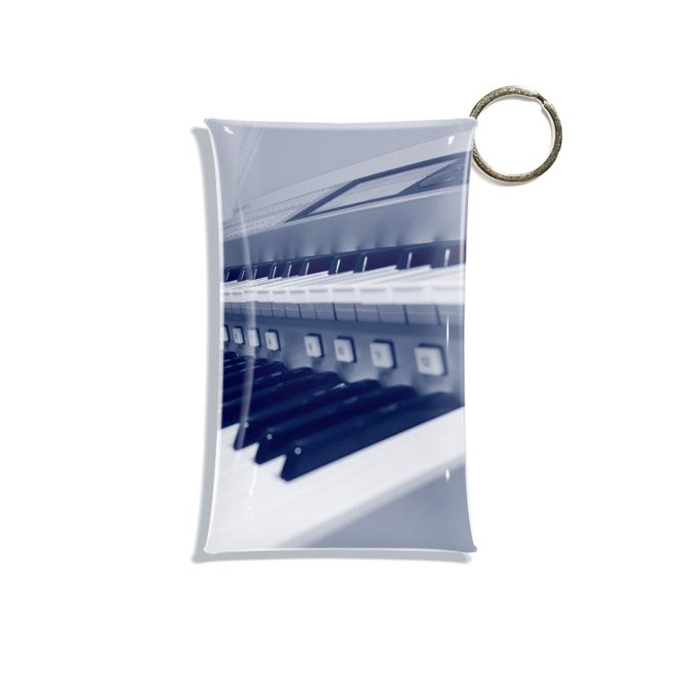 eMu*りおのえれくとーん Mini Clear Multipurpose Case