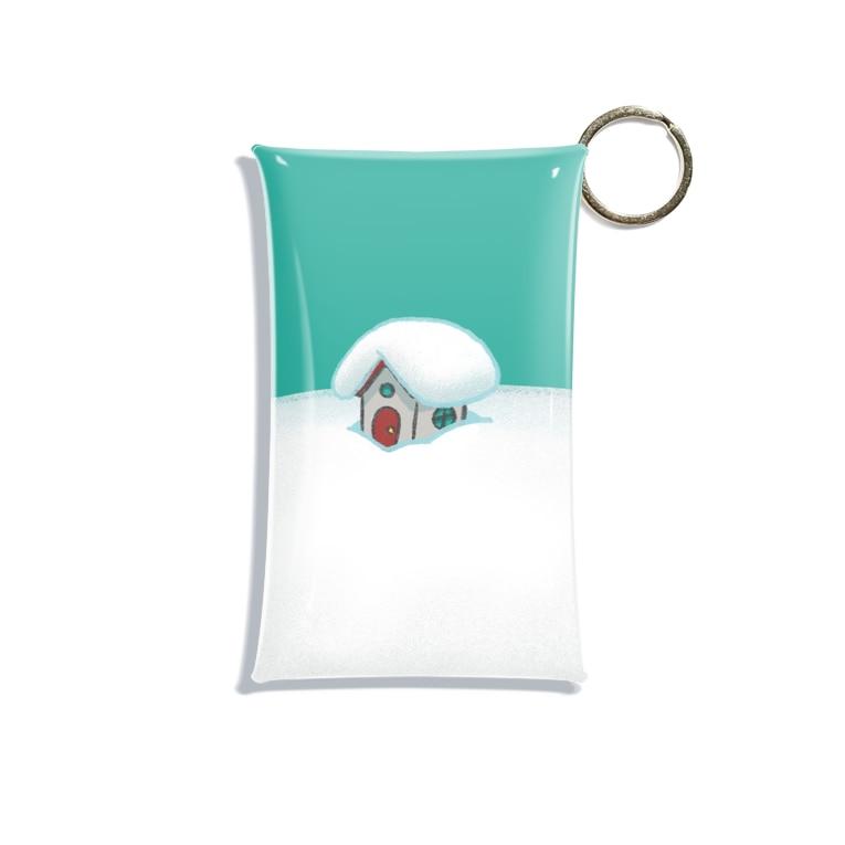 Artworksの雪ぴ Mini Clear Multipurpose Case