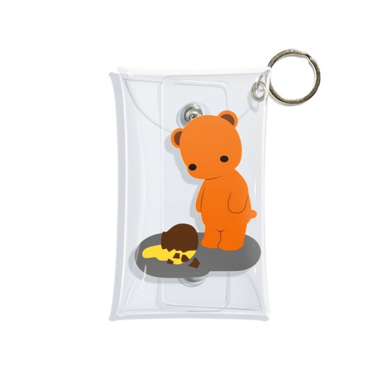 ほぼ動物園の放心 Mini Clear Multipurpose Case