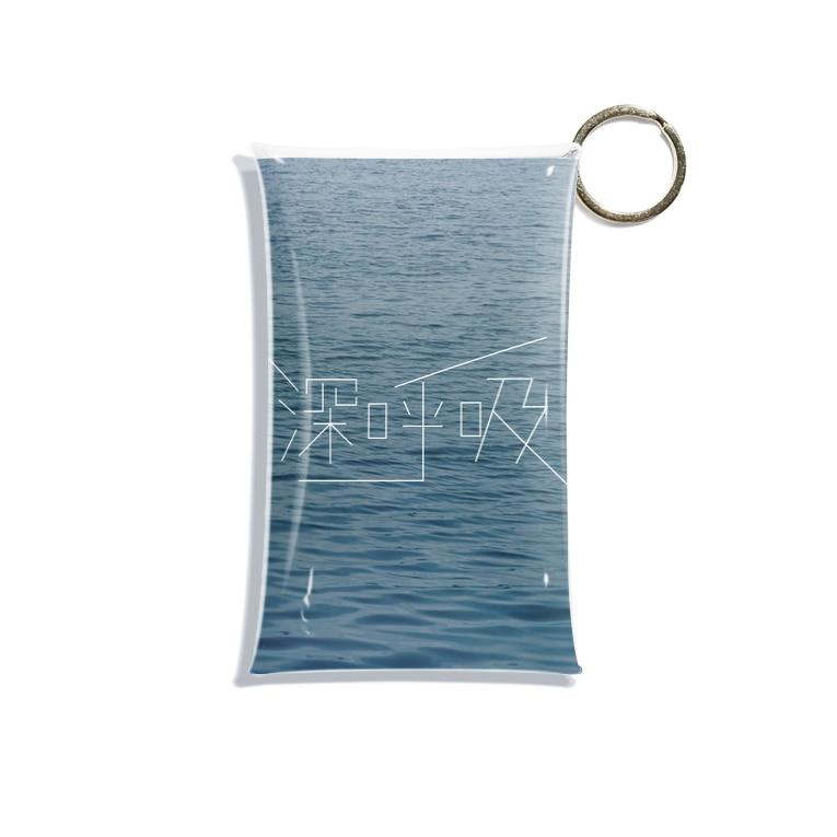 _oaaiの深呼吸 Mini Clear Multipurpose Case