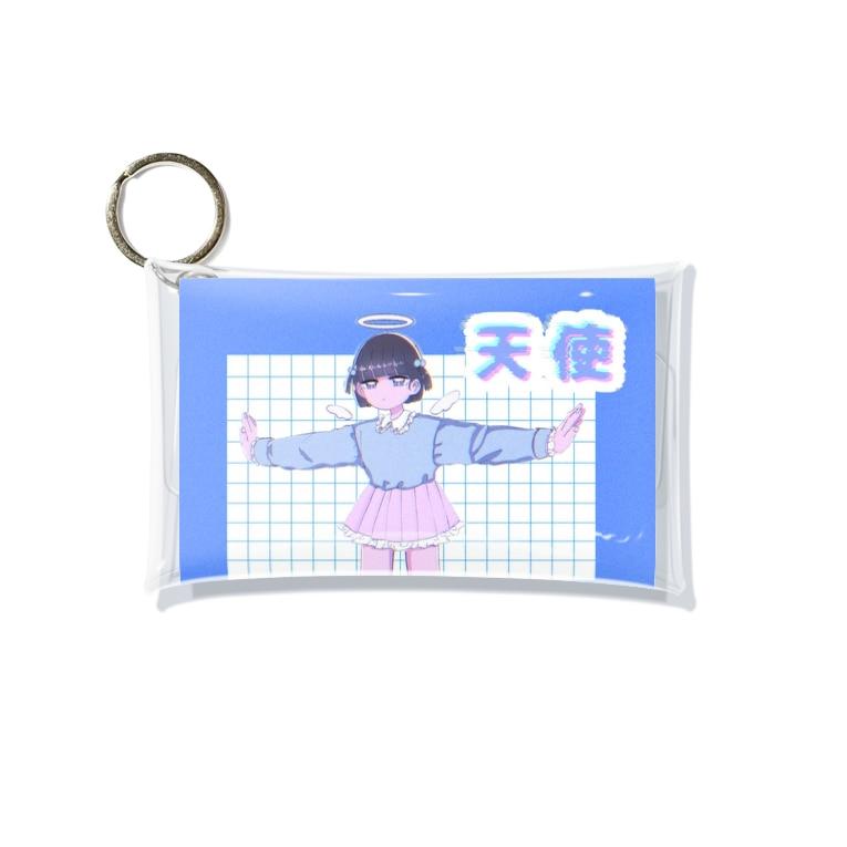 びんとろの天使 Mini Clear Multipurpose Case