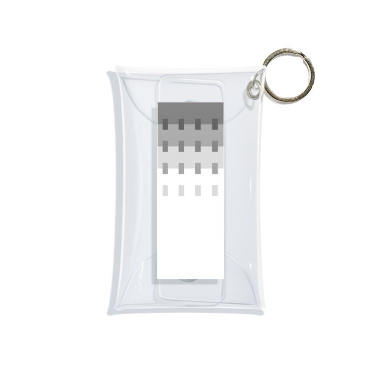 SiMesava's ShopのKOHADA Mini Clear Multipurpose Case