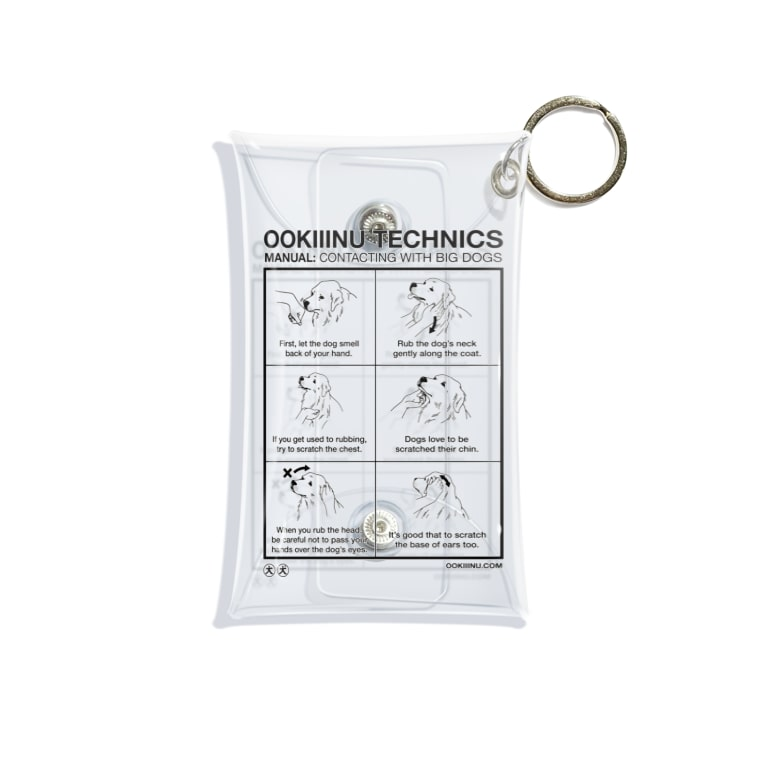OOKIIINUのOOKIIINU TECHNICS Mini Clear Multipurpose Case