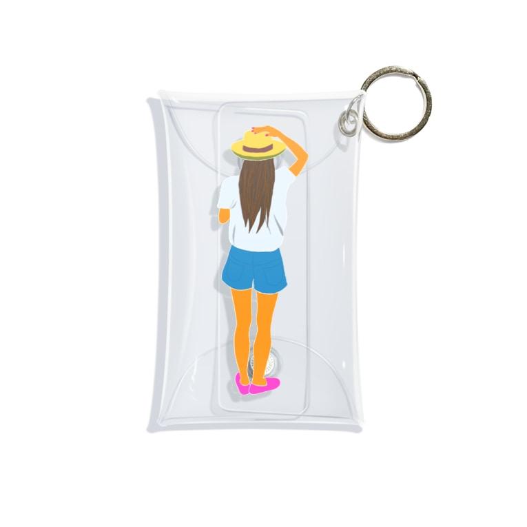 Mischa/ミーシャのBondi Mini Clear Multipurpose Case