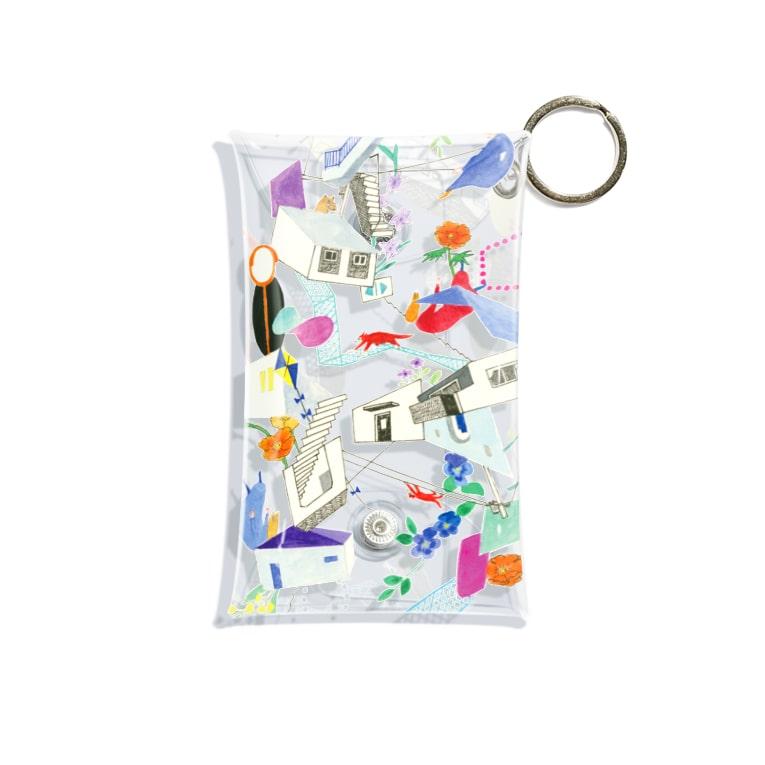 misuzuoyamaのうかぶ Mini Clear Multipurpose Case