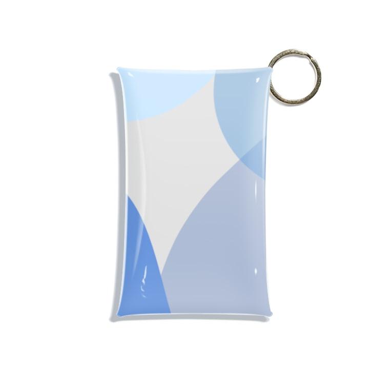 poqpoqのちびたい Mini Clear Multipurpose Case