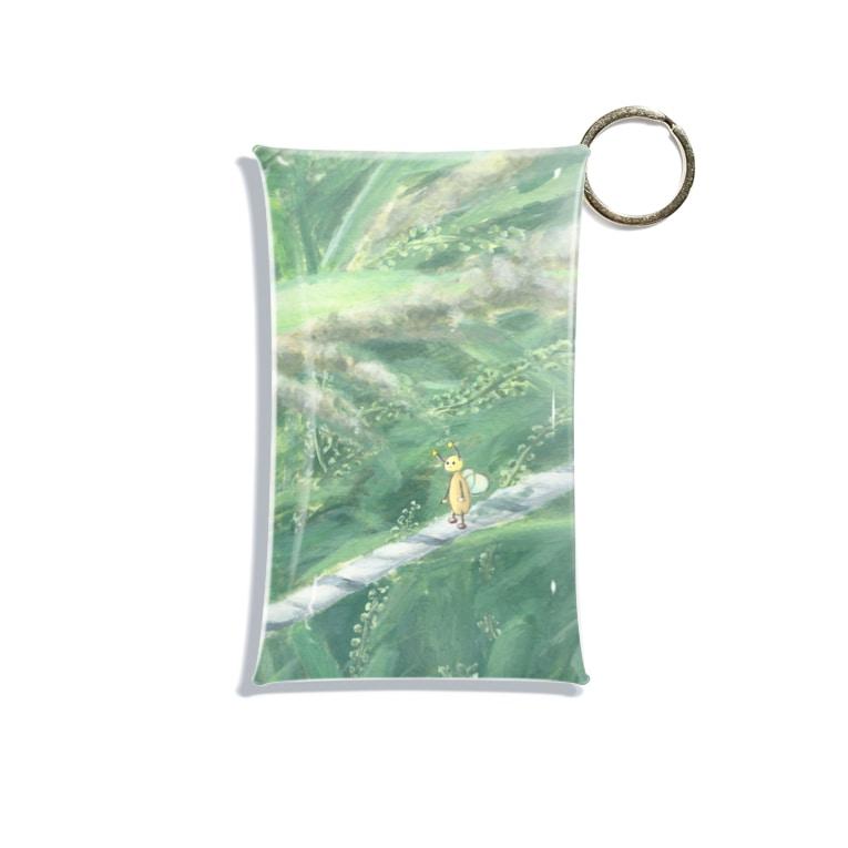 takenami_otohaの綱渡り中 Mini Clear Multipurpose Case