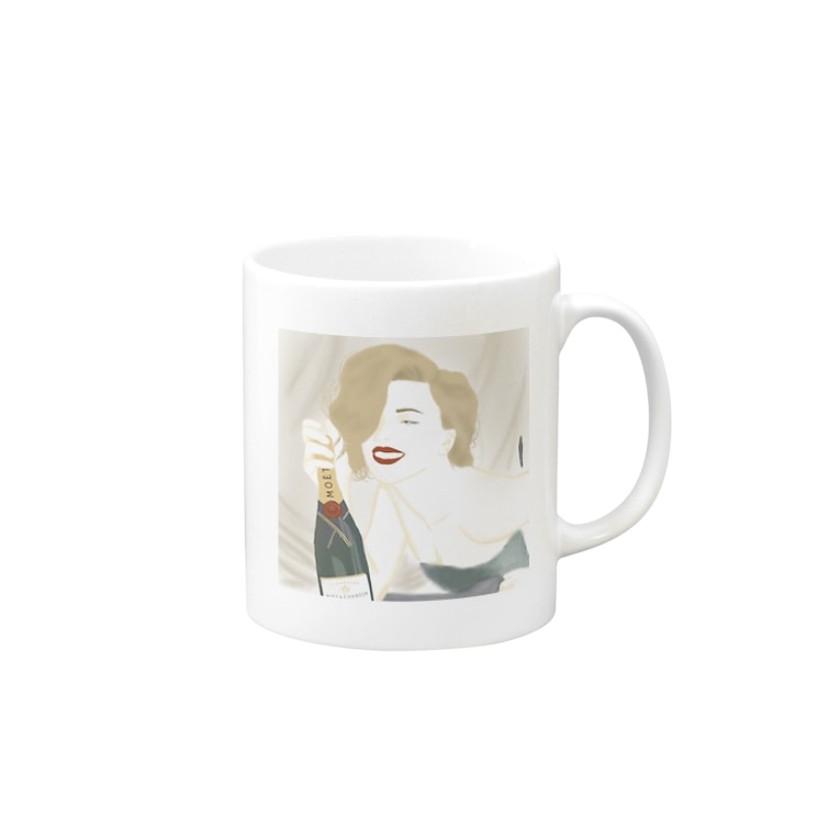miawのほろよい気分。 Mugs