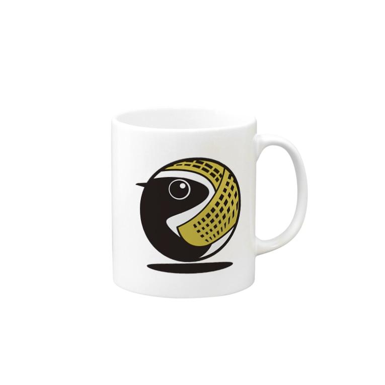 ヤストリのヨーロッパムナグロ Mugs
