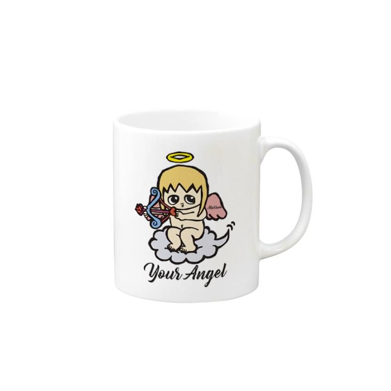 MarrowのMarrow 天使のマグカップ Mugs