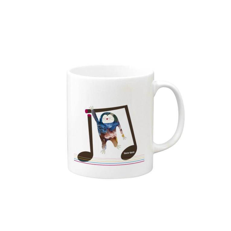 toco-tocoのスローリーさん Mugs