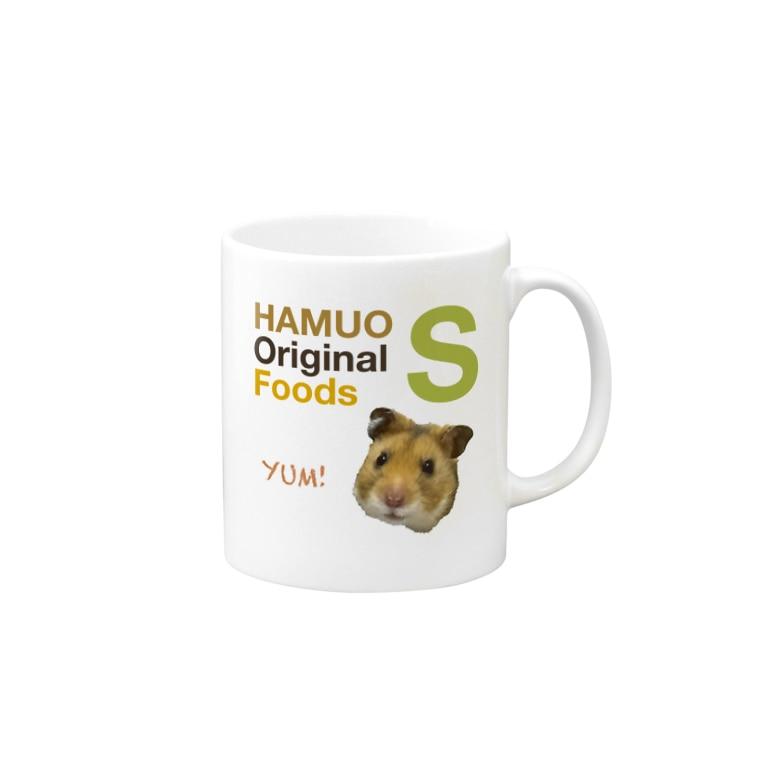 USAOTODAYのHAMUO ORIGINAL Sシリーズ Mugs