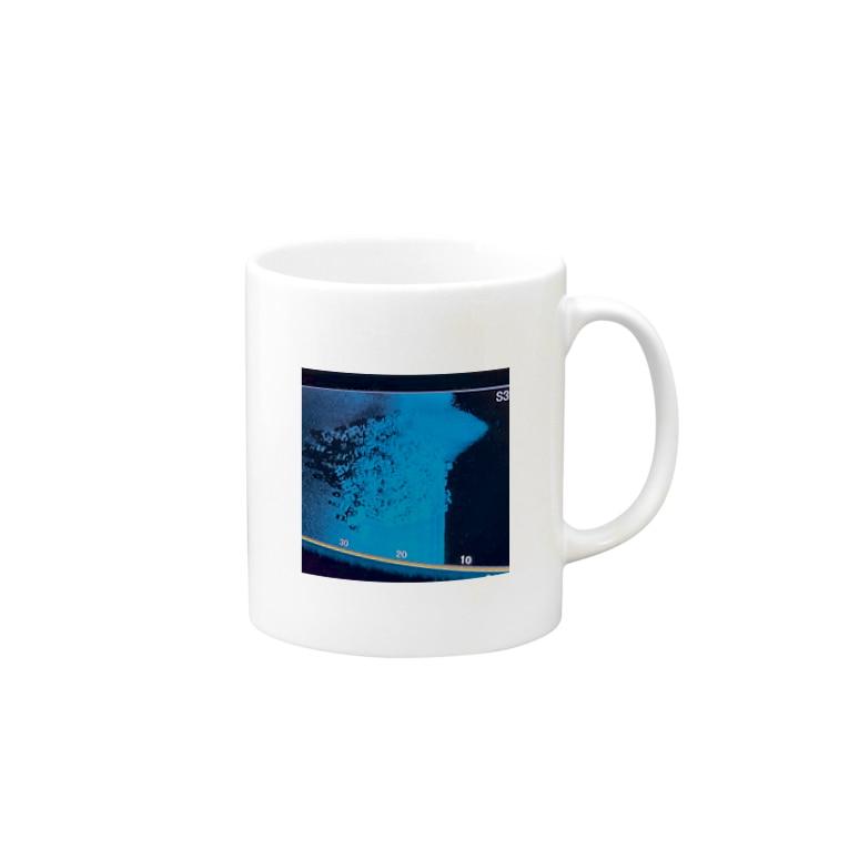 North Wave オリジナルグッズの湖北の魚礁1 Mugs