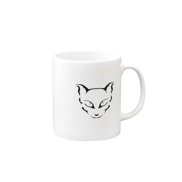 brancoのネネココ Mugs
