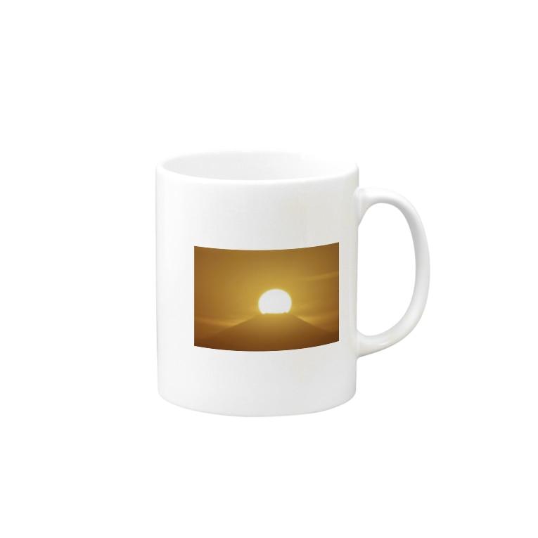1234の太陽 Mugs