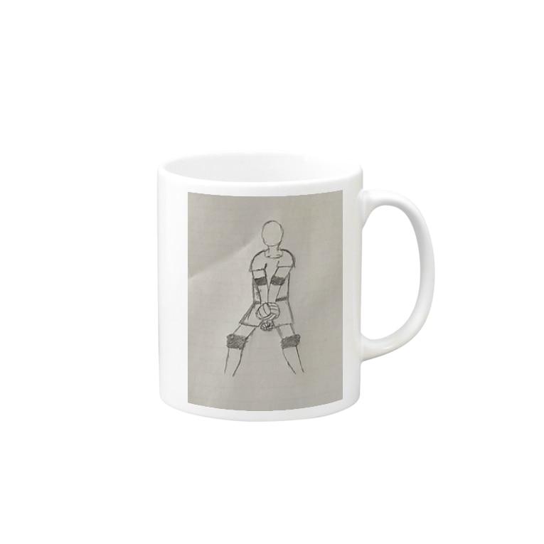 yuki_vb_0917のバレー部 Mugs