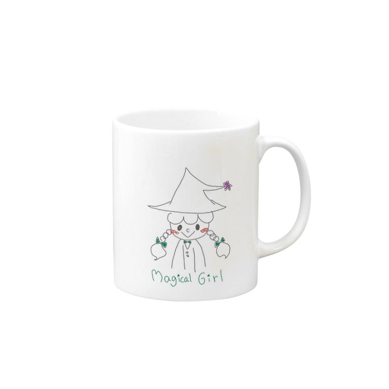 nyonboのMagical Girl Mugs