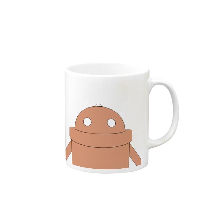 ROBOTCOMPANYのロボットB Mugs