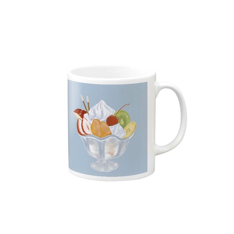 riino(リイノ)のフルーツパフェはいかがですか? Mug