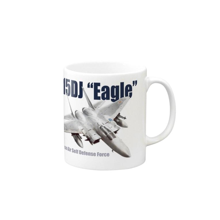 kazu Aviation ArtのF-15DJ Mugs