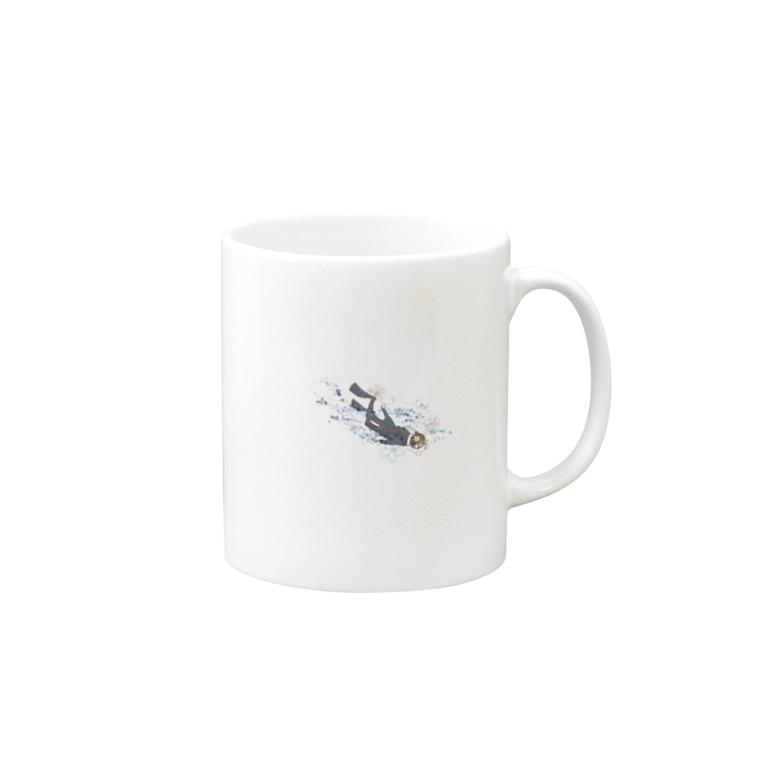 KiBoneのDiver Mugs