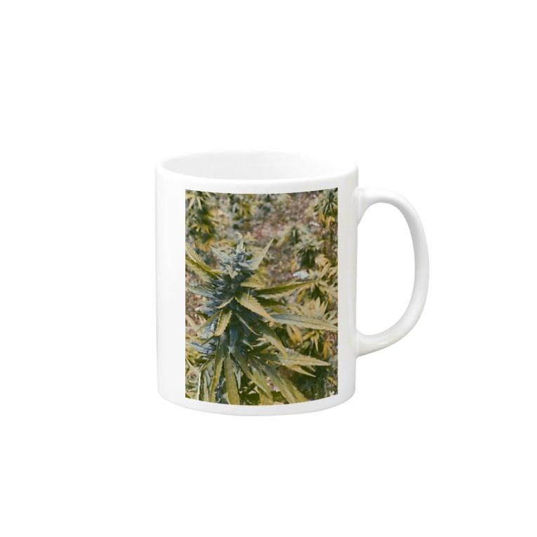AsOneのMarijuana 2 Mugs