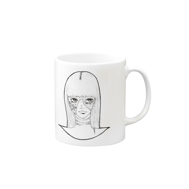 Tsuna ⁂のハロウィンゾンビ女その2 Mugs