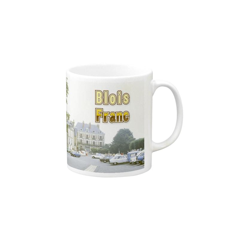 FUCHSGOLDのフランス:ブロワの風景 France: view of Blois Mugs
