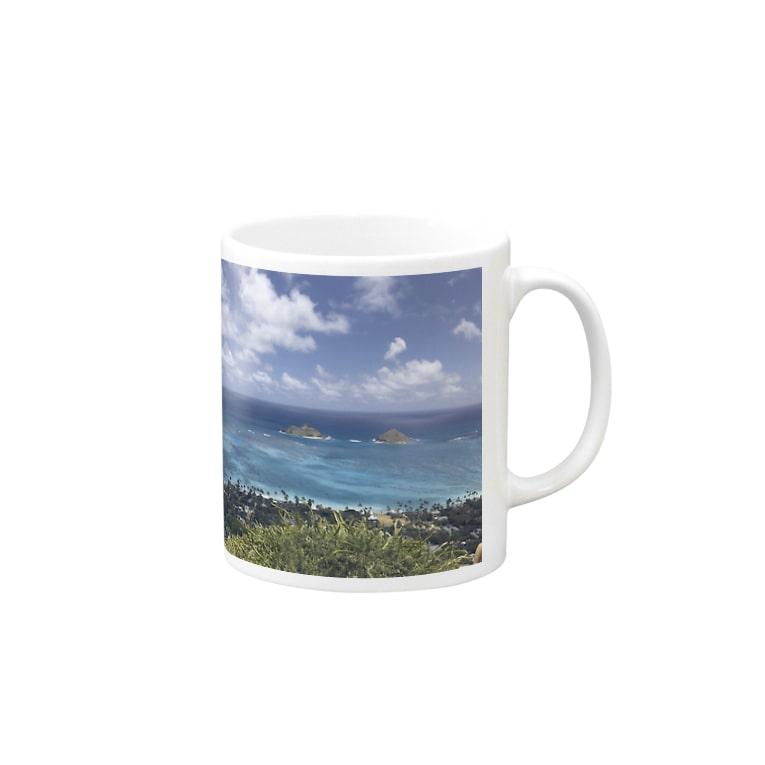 NATSUKO-SHOPのハワイ カイルアの絶景 Mug