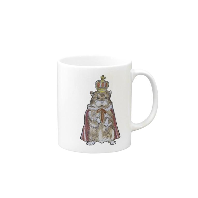 ruca's shopのねずみの王様 Mug