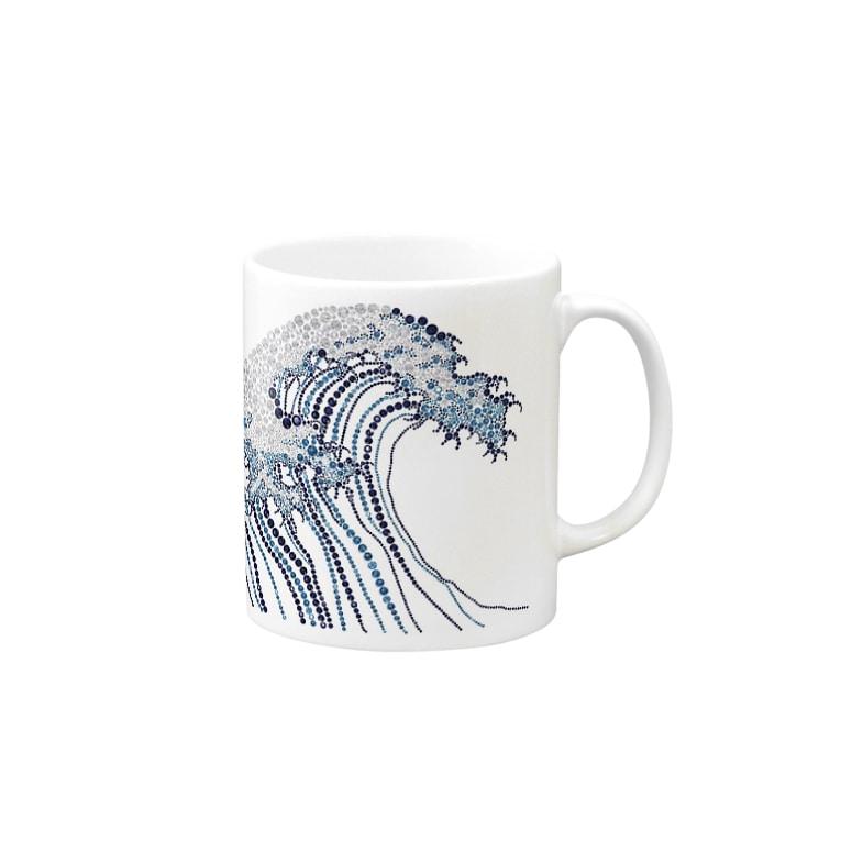 Crystalの東海道五十三次 Mugs