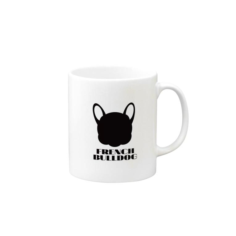 French Friendsのフレンチブルドッグ雑貨 Mugs