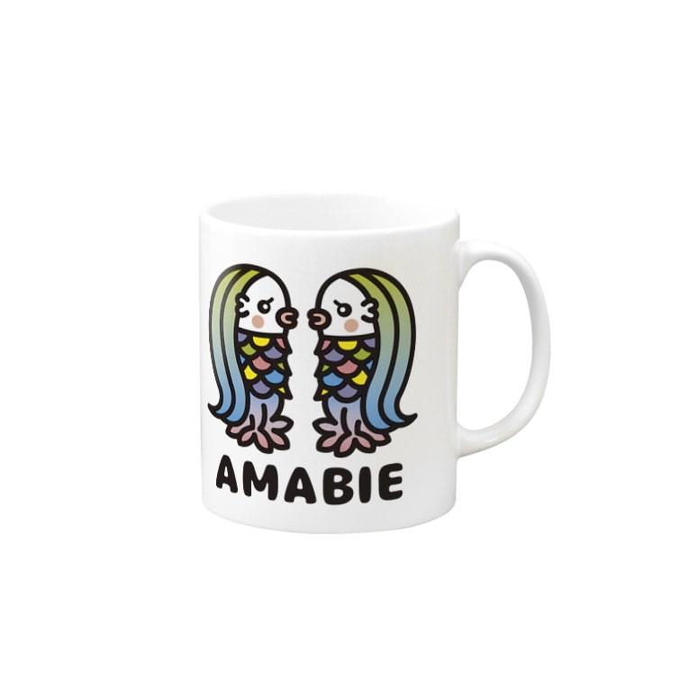 toodle doodleのアマビエツインズ♥ Mugs