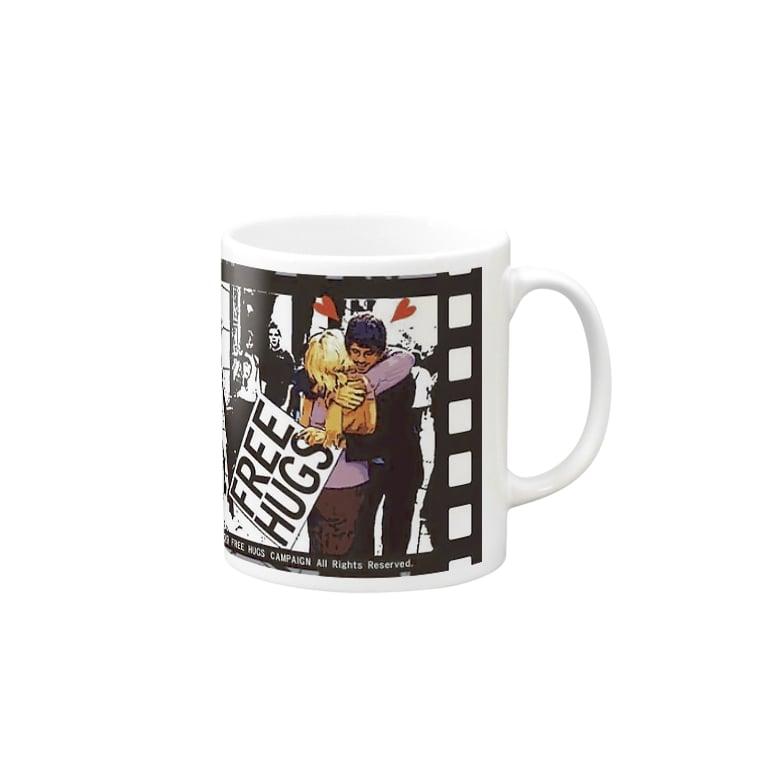 FUNKY STREET SHOPのFREE HUGS Mugs