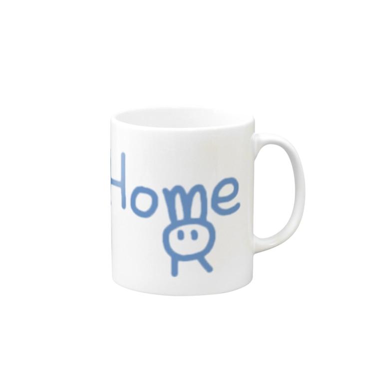 MoltoRaBitの#StayHome by MoltoRaBit  Blue Mugs