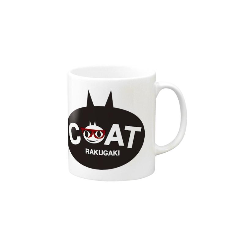 キャッティ(オフィシャル)ネコ好き集まれ!!のワンポイントはこれ Mug